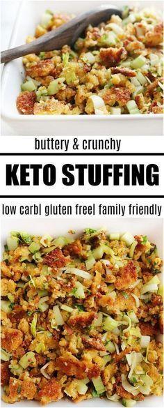 keto stuffing recipe I'm sharing 20 keto Christmas recipes including keto Christmas desserts, keto dinners, and keto fat bombs! Enjoy these keto recipes and have a feast. Healthy Recipes, Ketogenic Recipes, Low Carb Recipes, Diet Recipes, Ketogenic Diet, Paleo Diet, Slimfast Recipes, Soup Recipes, Chicken Recipes