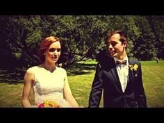 Ivona a Vladimír - svatební video - wedding highlights - Dolní Žleb 4.7.2015 - YouTube