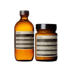 Aesop Mandarin Facial Cream Fabulous Facial Cleanser Set ($100) ❤ liked on Polyvore featuring beauty products, skincare, face care, face cleansers, moisturizing face wash and aesop