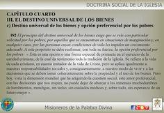 Misioneros de la Palabra Divina: DOCTRINA SOCIAL DE LA IGLESIA ( CAP IV )