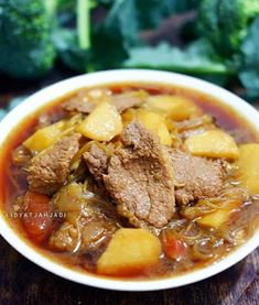 Malay Food, Indonesian Cuisine, Asian Recipes, Ethnic Recipes, Recipe Details, Beef Dishes, Diy Food, Food To Make, Good Food