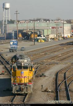RailPictures.Net Photo: UPY 846 Union Pacific EMD SD38-2 at North Little Rock, Arkansas by M.J. Scanlon