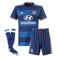 Camisetas del Olympique Lyonnais para Niños Away 2016 2017 Lyonnaise, Shirt Shop, T Shirt, Rip Curl, Football Shirts, Trunks, Kit, Swimwear, Shopping