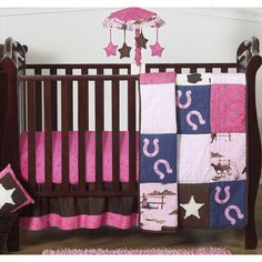Bedding Sets Pink Owls Girls Baby Nursery Bedding Set For Cot Cot Bed 2 3 4 5 6 Pieces
