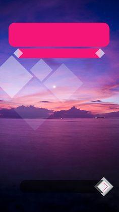 ↑↑TAP AND GET THE FREE APP! Lockscreens Art Creative Sunset Sea Sky Clouds Mountains HD iPhone 6 Lock Screen