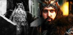Thorin and Thror, King Under the Mountain