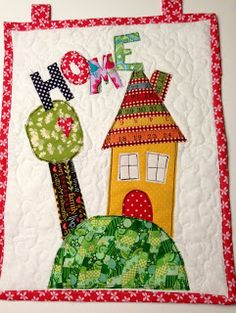 Easy Home Wall Quilt