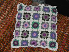 coussin granny pour mamie Jeanine