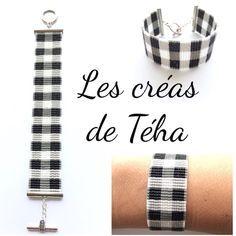 49 mentions J'aime, 5 commentaires - @les_creas_de_teha sur Instagram : « Il y a longtemps que je voulais tisser un motif Vichy, c'est chose faite!! Bracelet à retrouver… »