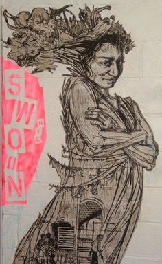 Swoon Street Artist xx