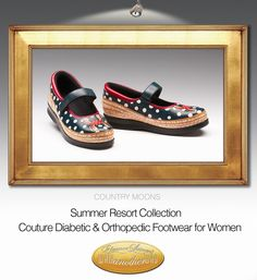 Couture Diabetic and Orthopedic footwear for Women.  walkanotherway.com