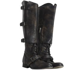 Criollo Boot Leather
