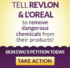 No more  Chemicals  Take action