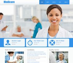 Medicare Free #Responsive #HTML5 #CSS3 #Mobileweb Template