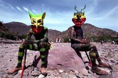 thenearsightedmonkey:  superkintaro Cora indians during holy week. Nayar region, Mexico