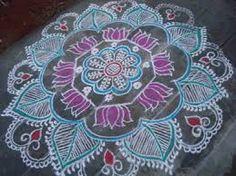My Kolam: Free hand kolam Beach Mat, Outdoor Blanket, India, Rugs, Free, Henna, Home Decor, Flowers, Image