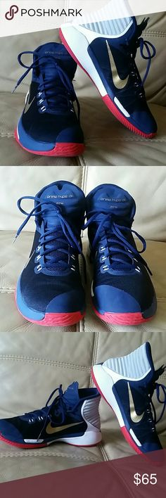 Nike Prime Hype DF 2016. Basketball shoes. Excellent condition. No defects.  Dynamic high-top collar for support and natural motion. Nike Shoes Athletic Shoes
