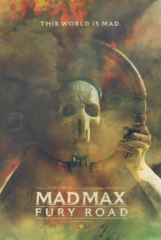 Mad Max Fury Road fan made poster