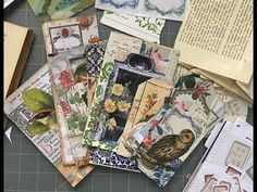 Nature Journal, Book Journal, Journal Cards, Fabric Journals, Art Journals, Bookbinding Tutorial, Glue Book, Altered Book Art, Junk Art