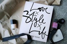 Garance Dore Love Style Life - ladybirds nest - chanel nail polish makeup