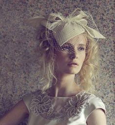 Gorgeous Fascinators and Bridal Inspiration - Jane Taylor Millinery | OMG I'm Getting Married UK Wedding Blog | UK Wedding Design and Inspiration for the fabulous and fashion forward bride to be.
