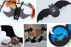 Halloween Bat Crafts for Kids