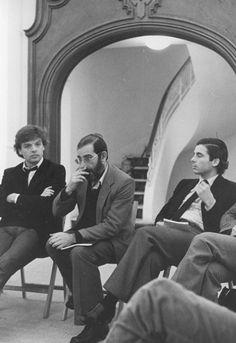 With Alvaro Siza and Alberto Campo Baeza, Madrid 1980. Snapshots by www.campobaeza.com