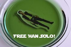 Free Han Solo game- this would be funny in jello