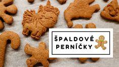 VÁNOČNÍ ZDRAVÉ RECEPTY | ŠPALDOVÉ PERNÍČKY Gingerbread Cookies, Fit, Desserts, Recipes, Youtube, Gingerbread Cupcakes, Tailgate Desserts, Deserts, Shape