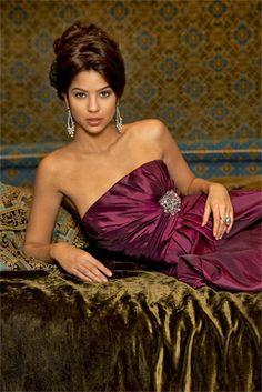 Alexia II Bridesmaid Collection - 912. More colors available.  Elaine's Wedding Center