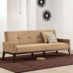 Charming New Clark Sofa/Sleeper From West Elm