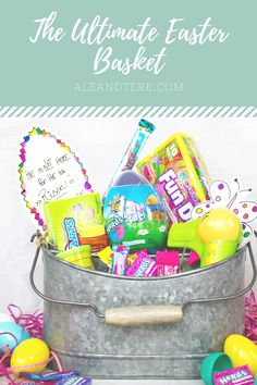 Sharing THE ULTIMATE EASTER BASKET with @nestle and @walmart #SpringItOn #NestleKitchen #ad Happy Easter, Easter Bunny, Art Eras, Savoury Dishes, Easter Baskets, Easter Crafts, Walmart, Diy Crafts, Holidays