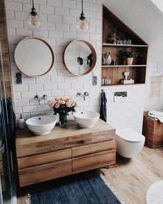 Bathroom decor for the master bathroom remodel. Discover bathroom organization, bathroom decor suggestions, master bathroom tile a few ideas, master bathroom paint colors, and more. Bad Inspiration, Bathroom Inspiration, Bathroom Ideas, Bathroom Designs, Shower Ideas, Bathroom Inspo, Bathroom Updates, Bathroom Hacks, Bathroom Goals