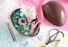 How to Make a Chocolate Surprise Egg (Kinder Surprise) / from the Etsy blog