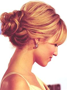 dianna agron--love the hairstyle for a fancy party!