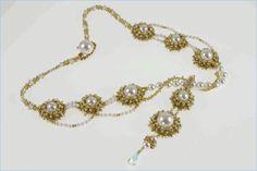 Victorian Serenade Necklace Beading Kit $125
