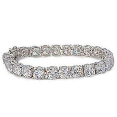 Galaxy: Stunning 32.5ct Ice on Fire Diamond CZ Tennis Bracelet - Trustmark Jewelers