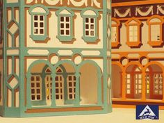 3D svg House lantern renaissance style by zigtac on Etsy