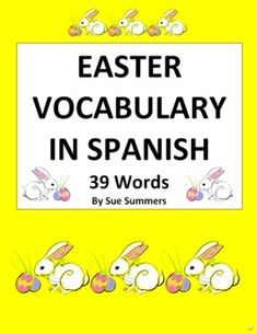 1000 images about spanish easter on pinterest spanish vocabulary list and easter. Black Bedroom Furniture Sets. Home Design Ideas