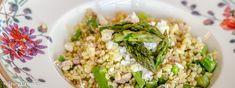 Bulgurový salát s chřestem a tuňákem - Spicy Crumbs Spicy, Grains, Healthy, Food, Bulgur, Essen, Meals, Health, Seeds