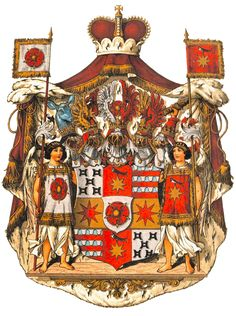 Coat of Amrs Fürstentum Lippe Wappen Holy Roman Empire, Graf, Arm Armor, Gold Embroidery, Family Crest, Crests, Gothic Art, Coat Of Arms, Middle Ages