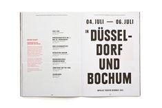 Fons Hickmann M23 - Impulse Theater Biennale - Impulse Theater, Program Booklets