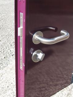 Steel High Security doors with panic bar doors