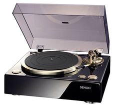 Reissue of a classic  Denon turntable, direct drive.