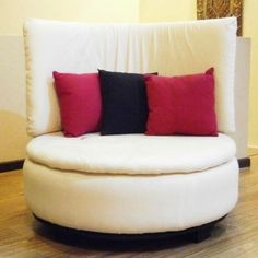Round Sofa from tire