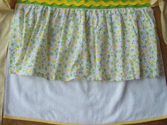 Lemonlime apron by ASewSewShop on Etsy, $14.99