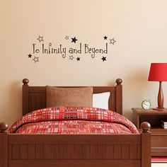 Toy Story Wall Decal  To Infinity and by StephenEdwardGraphic, $24.00