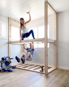 House Bunk Bed, Cabin Bunk Beds, Bunk Bed Rooms, Bunk Beds Boys, Bunk Beds Built In, Kid Beds, Caravan Bunk Beds, Bunk Bed Plans, Bedrooms