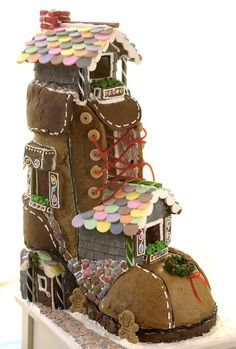 Gingerbread boot