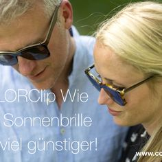 www.colorclip.info  #Sonnenclip #Vorhänger #Optik #Brille #Sonnenbrille #Colorclip #LensLab #Einschleifservice